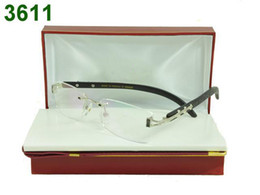 Wholesale Glass Top Wooden Box - 6pcs brand rimless glasses frames eyeglass frame new in box tags booklet wholesale price top quality