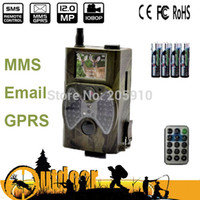Wholesale Hunting Camera Email Mms - Wholesale-New 1080P Waterproof MMS Email GPRS Game Camera Trail Hunting Camera