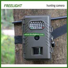 Wholesale Cheap Sd Card 32gb - Wholesale-2015 New Cheap Low Glow 8MP Digital IR Game Trail Scouting Hunting Camera 32GB SD card Support Trail Game camera