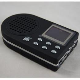 Акустические системы для охоты на птиц онлайн-Оптовая продажа-встроенный 110 птица звуки динамик охота Mp3 птица Caller Sound Player охота приманка громкоговоритель