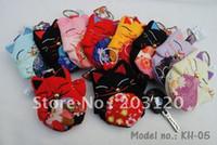 ingrosso portafogli giapponese-** Grande vendita ** 10pcs`Japan !! Chirimen Lucky Cat Key Case / Key Holder / Key Bag / Key Wallet / Genuine Goods100% (KH-05)
