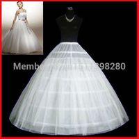 Wholesale Gowns Accessories Designs - Hot Sale Petticoat Unique Design White 6 Hoops Ball Gown Bridal Wedding Gown Petticoat Crinoline Slip Wedding Accessories A20