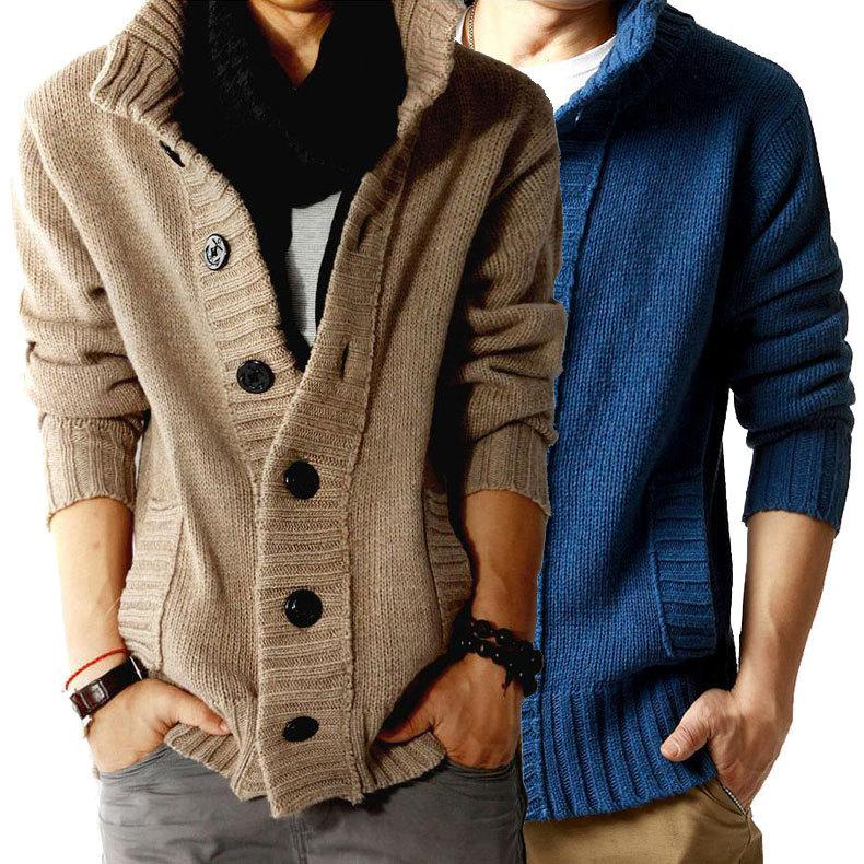 Online Cheap Sale 2015 Men'S Sweater Cardigan Shirts Cashmere ...