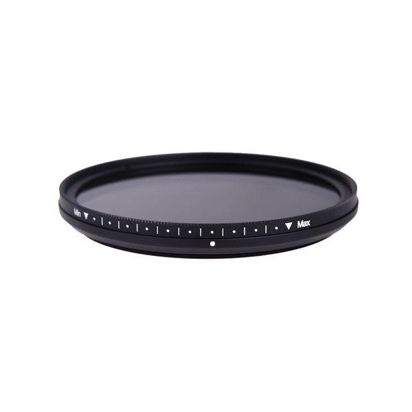Neue 67mm Slim Filter Fader Variable einstellbar ND2 bis ND400 ND Neutral Density Filter für Kamera DSLR