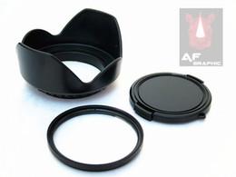 digitalkamera objektivfilter Rabatt F216 Digitalkamera-Objektive Objektiv schützen UV-Filter + Blume Gegenlichtblende + Objektivdeckel-Set passen alle 40,5 mm Filtergröße NEU
