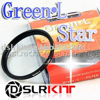 Wholesale 67mm Star - Green.L 67mm Star 4 Point 4PT Filter for 67 mm LENS