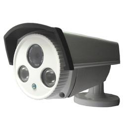 Wholesale Array Leds Cameras - Wholesale-Onvif 1080P IP Camera Built-in POE 2PCS Array Leds P2P Cloud 2.0MP 1920*1080 With Bracket Network Camera PC & Mobile View