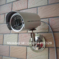 Wholesale Dvr Security Camera System Cheap - Wholesale-Hot Cheap 420TVL CMOS Color Video 36IR Waterproof CCTV Surveillance Security Camera System DVR W09