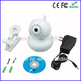 Wholesale Wanscam Ptz Ip Camera - Wholesale-wanscam P2P wifi wireless ptz ip camera Apple Android Windows system support Audio IN   Audio Out