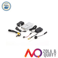 Al por mayor-freeshipping !!! cámara barata económico oculto agujero Mini Wireless Niñera kit de seguridad CCTV Video Vigilancia