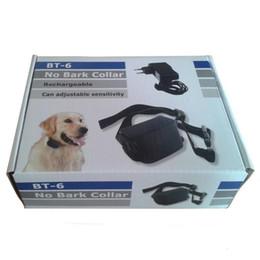 Wholesale Rechargeable Dog Bark Collars - Rechargeable Bark Terminator Advanced Bark Control Shock Vibra Dog Training Collar BT-6