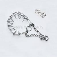 Wholesale Ring Dog Products - 1 pc Dog Chain Metal Training Choke Pet Necklace Dog Collar Dog Ring Necklace Dog Training Products C2040