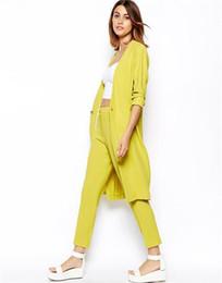 Wholesale Type Women Blazer - blazer women jacket NEW 2015 women coat women blazer suit foldable brand jackets women clothes shawl lady coat long type gift