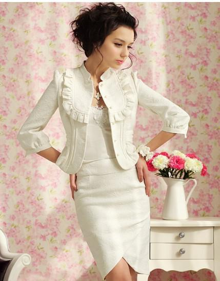 Autumn And Winter Women's Skirt Small Suit Jacket One-piece Dress ...