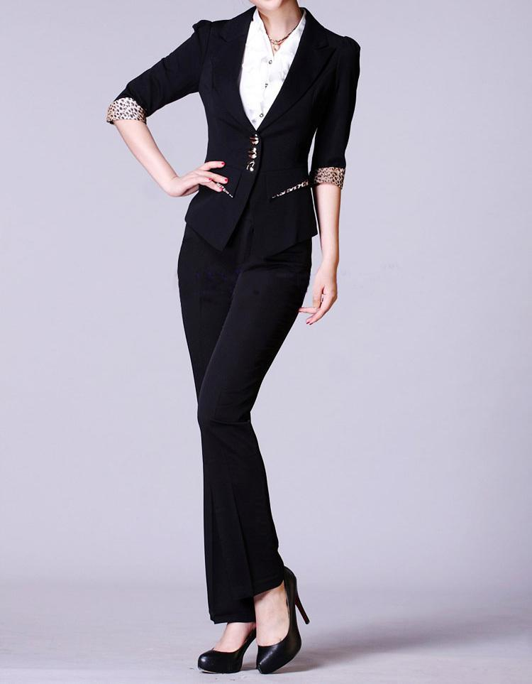 2018 Office Lady The New Business Attire Ladies Suits Female Fashion