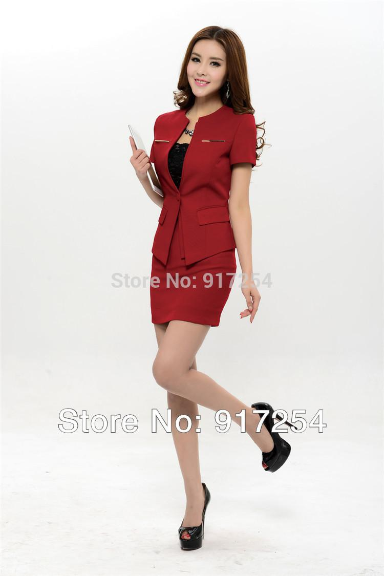 977bc93fdcd 2017 New 2015 Spring Summer Fashion Womens Business Suits Women .