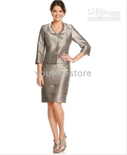 91019f9d5 2018 Women'S Skirt Suits New! Kasper Suit, Three Quarter Sleeve Jacket  &Amp; Tiered Skirt , Ladies Suits,Accept Paypal 302 From Red2015, $182.71    Dhgate.