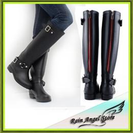 Wholesale Canvas Water Round - 2015 Fashion Woman Rain Boot Women Rubber Designer Rainboots Water Shoes Boots For Rain Day De Neve Botas