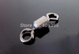 Wholesale Hooks Swivels - 200pcs 4 0# 32mm Rolling swivels For Sea fishing use Fsishing nap good quality Free shipping