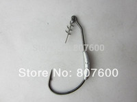 Wholesale Barbed Fishing Weights - Crazy Fish - 5x Mustad Fishing Tuning Weighted Hook 3 0 2.5g Spring Lock Weight Worm Offset Hook Color Black Nickel