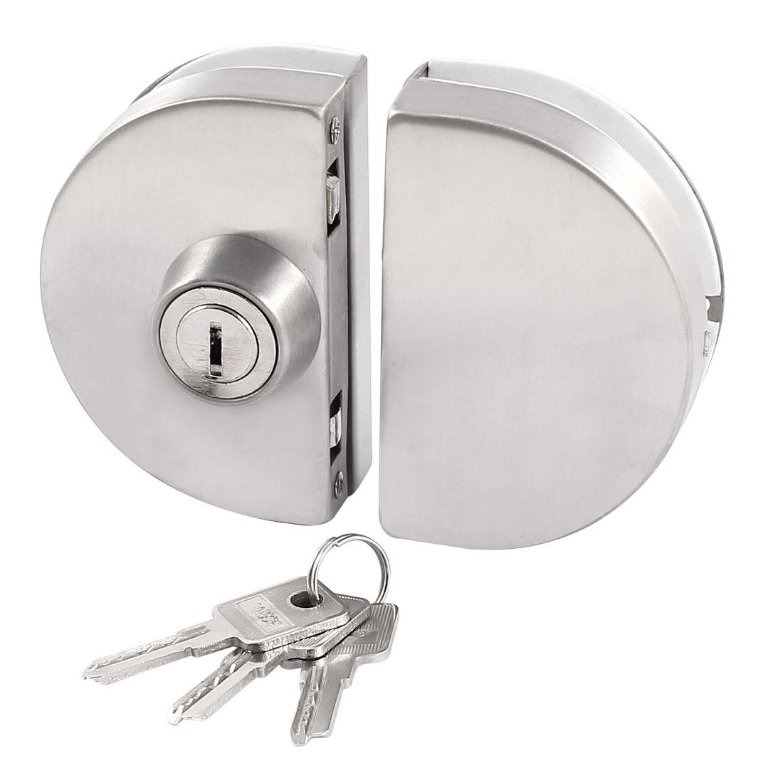 2018 Entry Gate Double Swing Push Pull Sliding Frameless Glass Door Lock From Ux168car 21 96 Dhgate Com