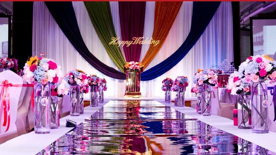 Bright glossy wedding carpet 012mm thickness romantic wedding bright glossy wedding carpet 012mm thickness romantic wedding decoration 12 m10m fedex carpet estimate carpeting cost from harace 1064 dhgate junglespirit Gallery