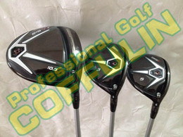 Wholesale Golf Free Shipping Fairway Wood - 2015 915 D2 D3 Golf Driver 9.5* 10.5* 915F Fairway Woods 15* 18* With Diamana M50 Graphite Shafts Golf Headcovers Free Shipping