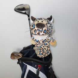 Wholesale Tiger Woods Sale - Free shipping Golf Animal Headcover for Fairway Wood or Hybrid, Hot Sale Blue Tiger