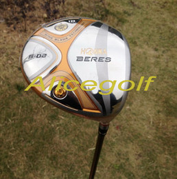 Wholesale Beres Golf - New golf driver 4 stars Honma Beres S-02 9 or 10 degree with stiff or Regular shaft japan golf clubs