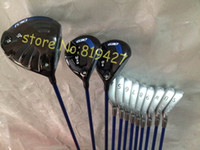 Wholesale Fairway Woods Set - 2015 Complete golf clubs G30 driver + G30 fairway wood 3# 5# + G30 irons set 4-9#,WUS 12pcs set include golf headcover