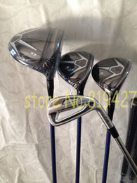 Wholesale D3 Golf Driver - Complete golf clubs 915D3 915 D3 driver + 915F fairway woods 3# 5# + A.P.2 forged 714 irons 3-9#,P 11pcs set free headcover