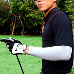 Wholesale Free 3d Golf - Free shipping high quality golf cuff,golf 3D seamless men and women gloves Sunscreen cuff