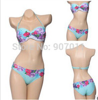 Wholesale Toby Bathing Suits - New vs bikini bathing suits for women 2015 sexy vintage stamp steel Toby Gini swimsuit Free Delivery