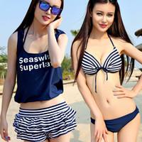 Wholesale Xl Women Bikinis Show - Free shipping 2015 new bikini swimsuit covered 4 times women beach sunshine show thin