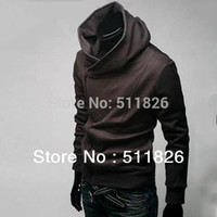 Wholesale Dust Free Clothes - Free shipping High Collar Men's Jacket Top Brand ,Men's Dust Coat Hoodies sweatshirt Clothes