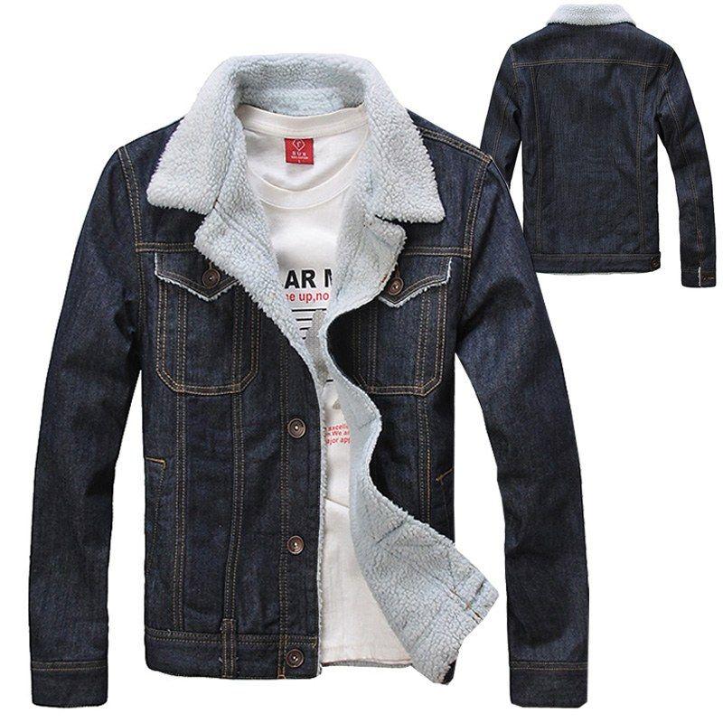 2015 Autumn Winter Fashion Men'S Fleece Coats , Men Warm Thick ...