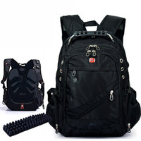 Wholesale Red Travel Bags - Wholesale-2015 New Fashion Brand Design Men's Travel Bag Man Backpack Polyester Bags Waterproof Shoulder Bags Computer Packsack