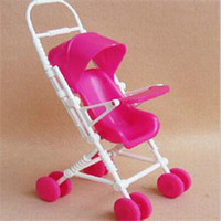 Wholesale Children Furniture Wholesale - 2015 New Novetly Children Toys Doll Accessories Cute Mini Doll Furniture Lovely Plastic Doll Cart