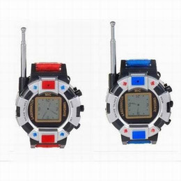 Wholesale Wholesale Walky Talky - Free Shipping 10 Pieces(5 Pairs) Lot New TWO WAY RADIO WALKIE TALKIE KIDS CHILD SPY WRIST WATCH WRISTLINX GADGET TOY WALKY TALKY