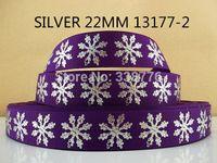 "Wholesale Animal Grosgrain Ribbon 22mm - 10Y13177 kerryribbon freeshipping 7 8"" (22mm) printed Grosgrain silver ribbon DIY headwear ribbon bow garment accessories"