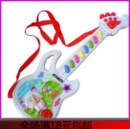 child guitars 2019 - Child baby electric guitar Large toys violin 0-1 - 2 - 3 cheap child guitars