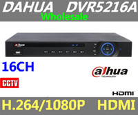Wholesale Dahua Standalone Dvr - 2015 New Arrival Dahua DVR 5216A H.264 HDMI 960H 1U Standalone DVR 16 Channel for CCTV Camera Free Shipping