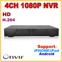 Wholesale Cheapest Cctv Camera Recorders - Cheapest H.264 Onvif 2.0 Network video recorder 4CH nvr for ip camera cctv recorder 4channel 1080p NVR , P2P 1080P HDMI