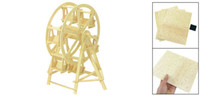 Wholesale Toy Wooden Ferris Wheel - Ferris Wheel Design Wood Model Puzzle Toy Woodcraft Construction Kit