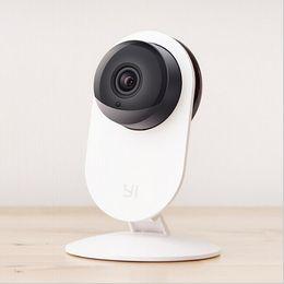 Wholesale Camaras Ip Mini - Wholesale-Xiaomi Smart Camera xiaoyi xiaomi yi ants webcam mini 720P IP camera wifi wireless camaras security HD cctv nanny cam telecamera