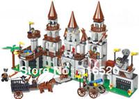 Wholesale Toys For Woma - Woma Eragon Castle J5690 Building Block Sets 747pcs Educational DIY Jigsaw Construction Bricks toys for children