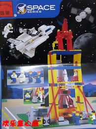 Wholesale Enlighten Space - Free Shipping Enlighten 515 584pcs large Building Blocks sets eductional bricks blocks children toys Space Shuttle Kids Gifts