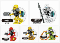 Wholesale Decool Hero Factory - 5pcs lot Decool Hero Factory 6.0 Star Solider Evo,Stormer,Furno,Rocka,Breeze minifig minifigure include Jumping Monsters figure