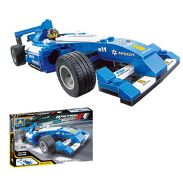 kazi 6033 162pcs eductional 3d construction bricks building blocks sets toys equations pull back f1 speed racing car kids toys from dropshipping suppliers