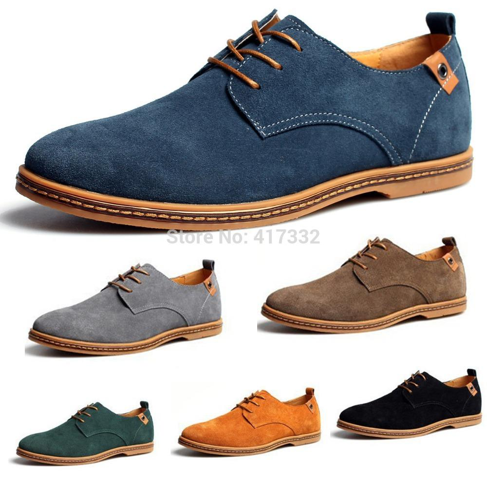 5c0c753f328 Kunsto Mens Dress Formal Oxfords Flats Shoes Wing Tips Suede Genuine Leather  Lined Sapatos Masculinos Lace Up EU38 46 Basketball Shoes Mens Shoes From  Duny
